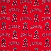 MLB Los Angeles Angels of Anaheim Cotton Fabric